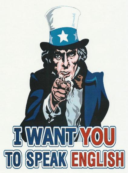 Eu quero que você em inglês