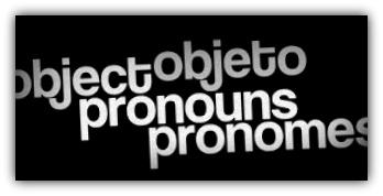 Pronomes Objeto em Inglês