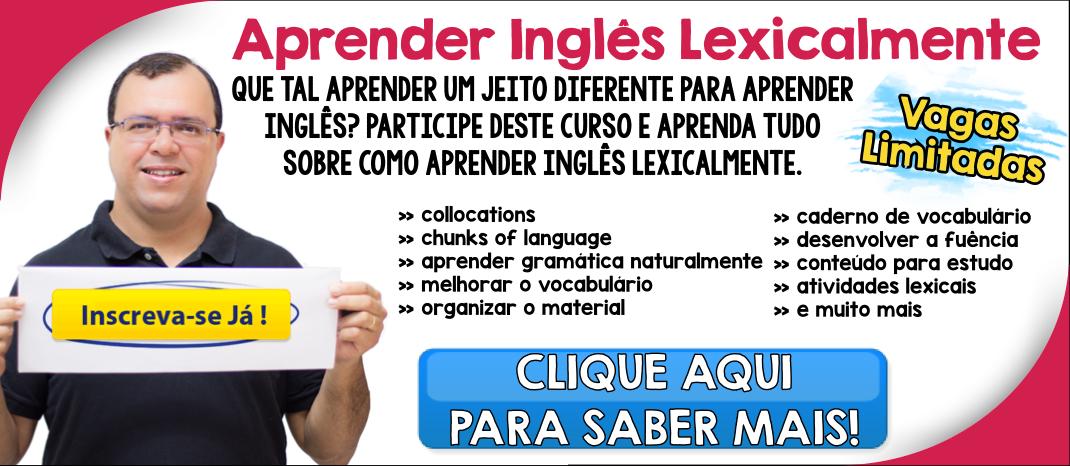 Curso Aprender Inglês Leixcalmente