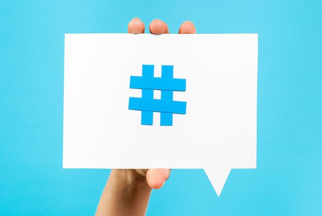 O que é hashtag?