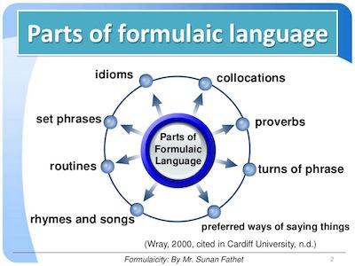 Formulaic Language